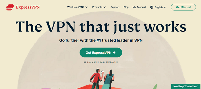 ExpressVPN for All 4
